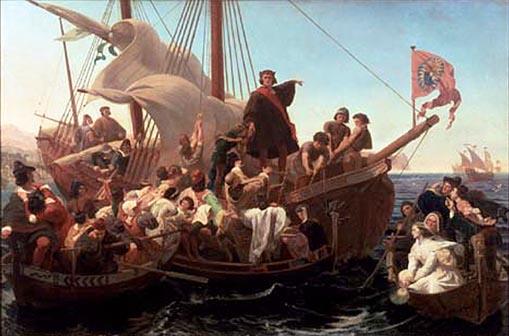 Columbus Sailing Vessel
