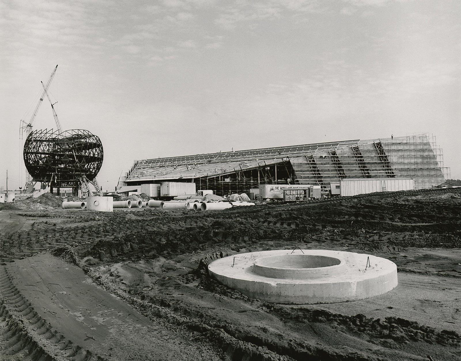 Epcot construction