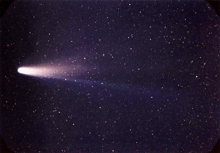 Halley's Comet, taken in 1986