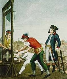 Robespierre_guillotined_Reign_of_Terror_1794