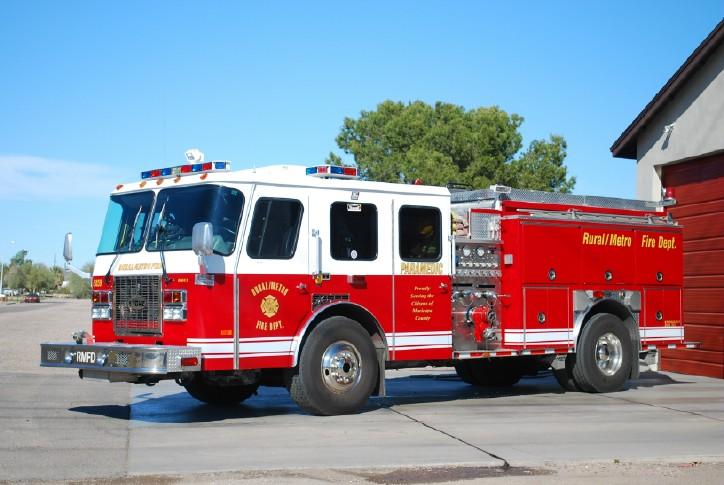 RuralMetro Fire Truck