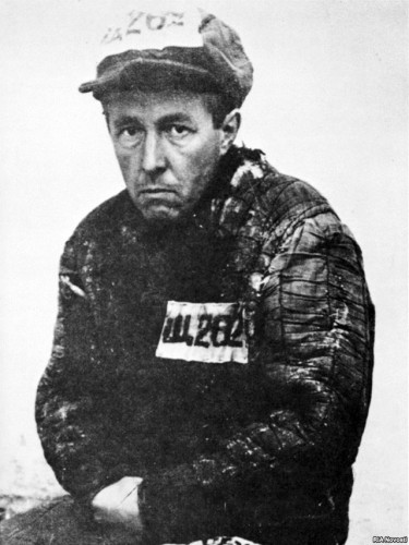 Image of Aleksandr Solzhenitsyn (1918-2008),  as a Gulag prisoner