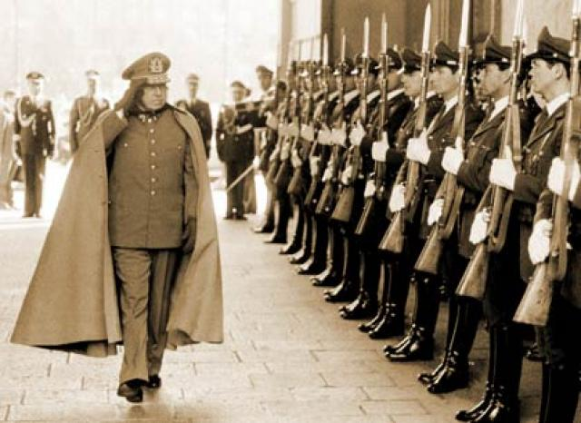 Augusto Pinochet (1915-2006) was an army general and dictator of Chile from 1973 to 1990