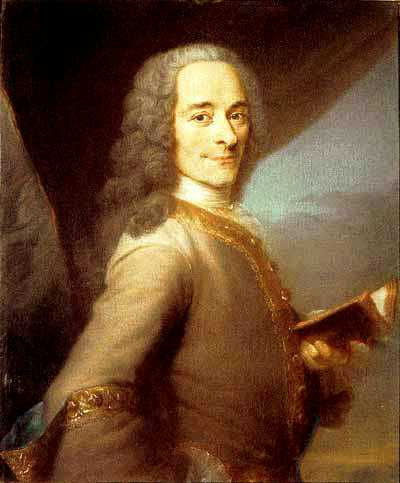 Voltaire (1694-1778) , was a French Enlightenment writer, historian and philosopher