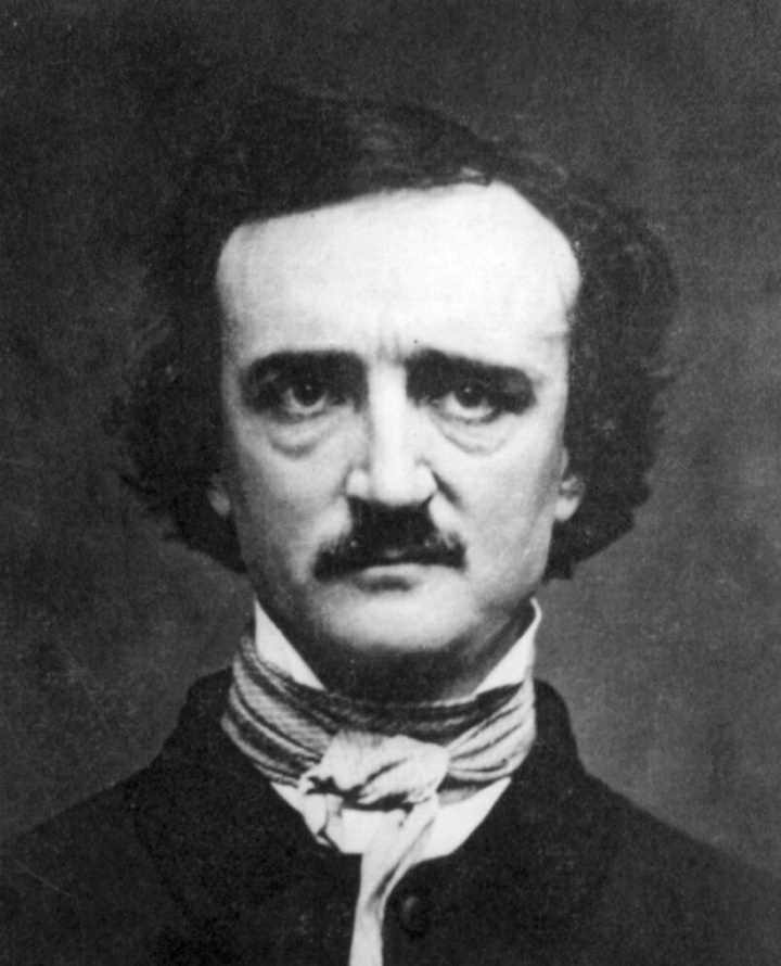 Edgar Allen Poe (1809-1849) Poe's attempt to live off writing alone was not a successful experiment. Although The Raven was celebrated immediately upon its debut in 1845, and established Poe as the literary genius we know today, it did not give him financial security. He died penniless and a meager 10 people attended his funeral.
