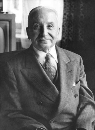 Ludwig von Mises (1881-1973), economist and philosopher