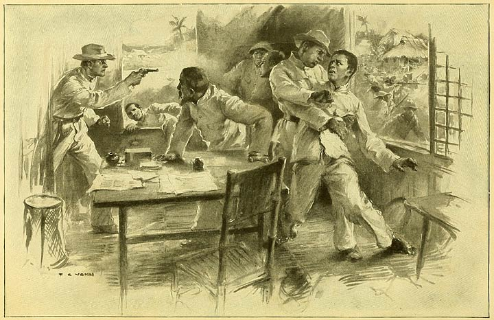 The capture of Aguinaldo, March 22, 1901