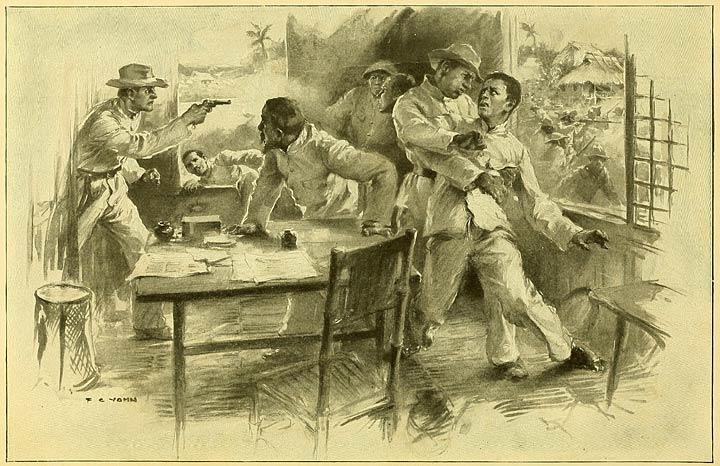 The capture of Aguinaldo, March 22, 1901