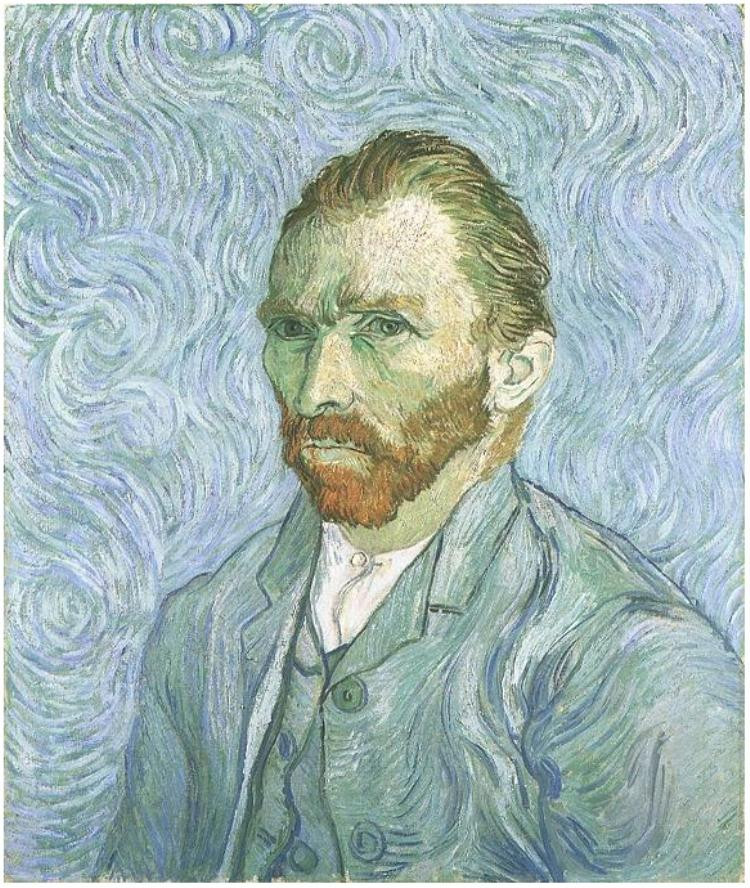 Vincent Van Gogh (1853-1890)  Today his iconic paintings sell for tens of millions of dollars each and his style is immediately recognizable to people all over the world. But in his lifetime, van Gogh made only $109 from sales of his paintings.