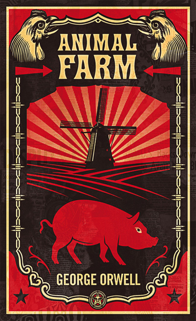 Cover from George Orwell's Animal Farm