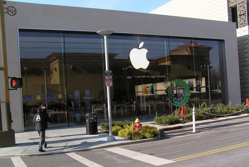 Apple Store in Yonkers, New York, 2013
