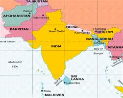 Bangladesh abuts India to the west, and Myanmar to the east.