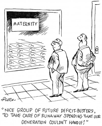 Debt Cartoon from CartoonStock
