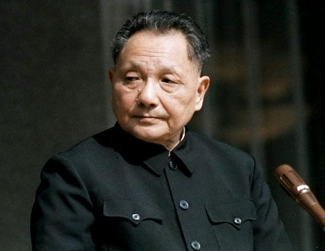 Deng Xiaoping (1904-1997), leader of the Chinese Communist Party from 1978 to 1992.