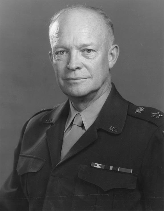 """President Dwight Eisenhower, a former General of the U.S. Army, said """". . . in the councils of government, we must guard against the acquisition of unwarranted influence,  whether sought or unsought, by the military-industrial complex."""""""