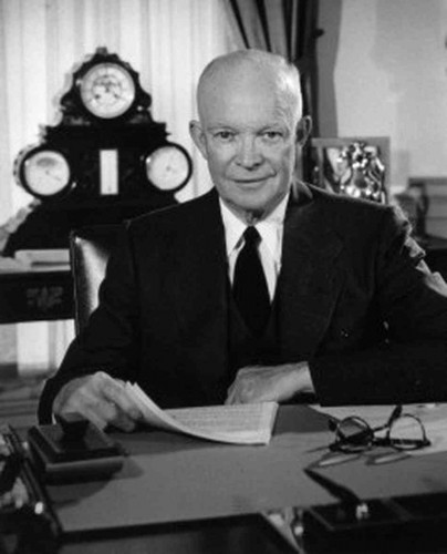 "President Dwight Eisenhower, a former General of the U.S. Army, said "". . . in the councils of government, we must guard against the acquisition of unwarranted influence, whether sought or unsought, by the military-industrial complex."""