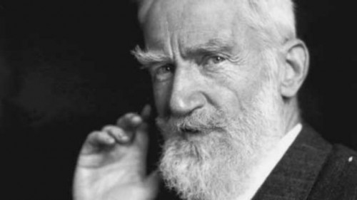 George Bernard Shaw (1856-1950), Irish playwright