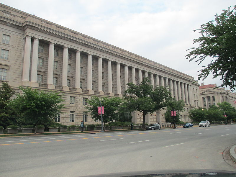 The IRS building in Washington D.C.