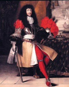 King Louis XIV of France (1643-1715)