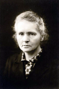 The work of scientist Marie Curie (1867-1934) not only won her two Nobel Prizes, her discovery of radium offered a means to successfully attack cancerous cells.