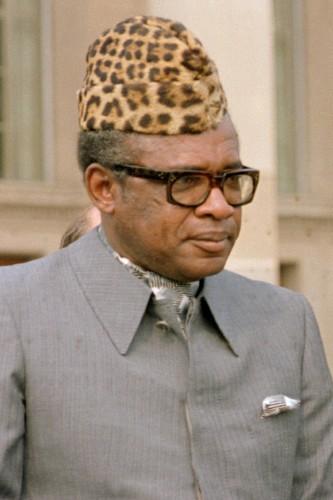 Mobuto Sese Seko (1930-1997), dictator of Zaire