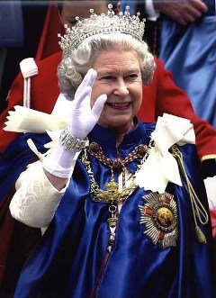 Queen Elizabeth of England, born 1926