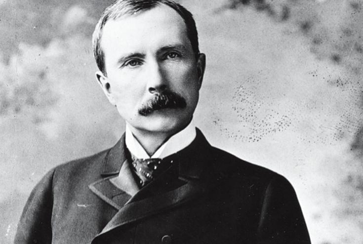 John D. Rockefeller (1839-1937), American industrialist and philanthropist