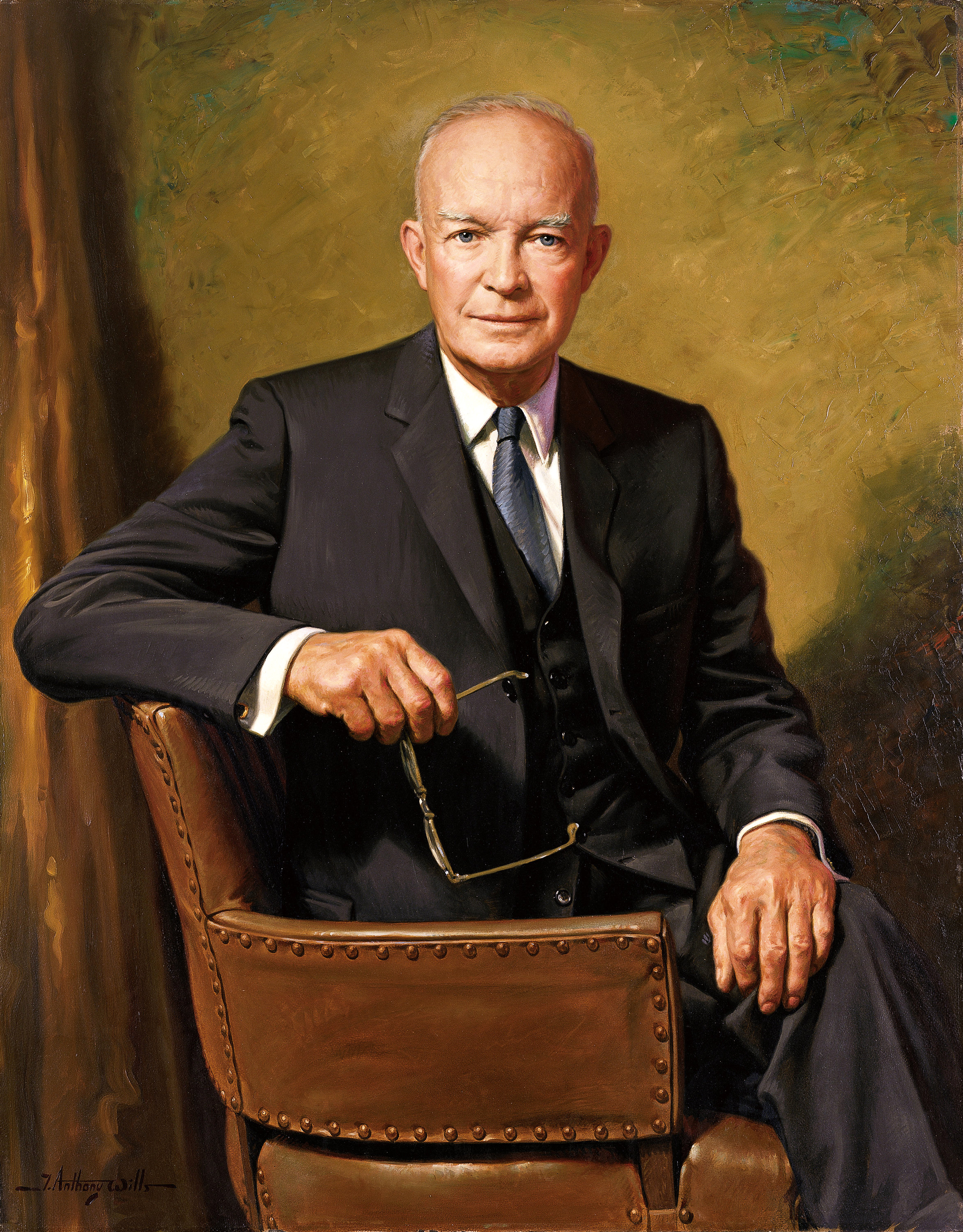 Dwight D. Eisenhower (1890-1969), 34th president of the Unites States