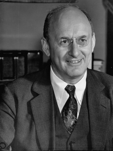 Henry Morgenthau Jr., (1891-1967), U.S. Secretary of the Treasury during the administration of Franklin D. Roosevelt