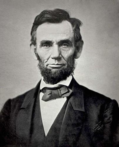 President Abraham Lincoln, November 1863.