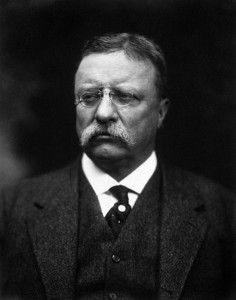 Theodore Roosevelt (1858-1919), former U.S. President
