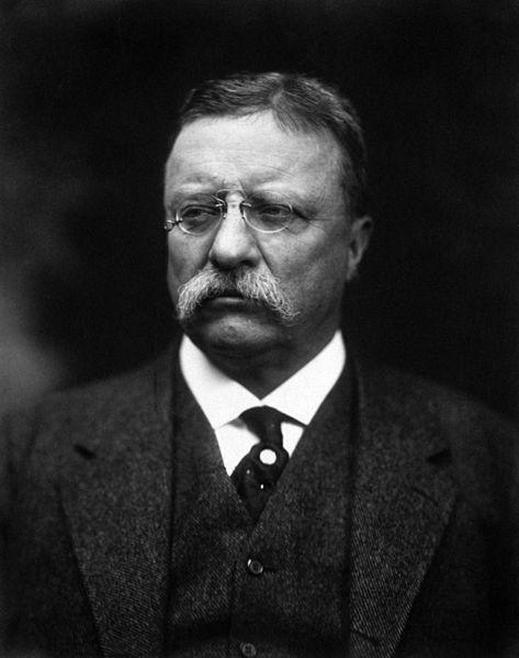 Theodore Roosevelt (1858-1919), former U.S. President