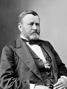 President Ulysses S. Grant, who fought as a junior officer in the Mexican-American War.