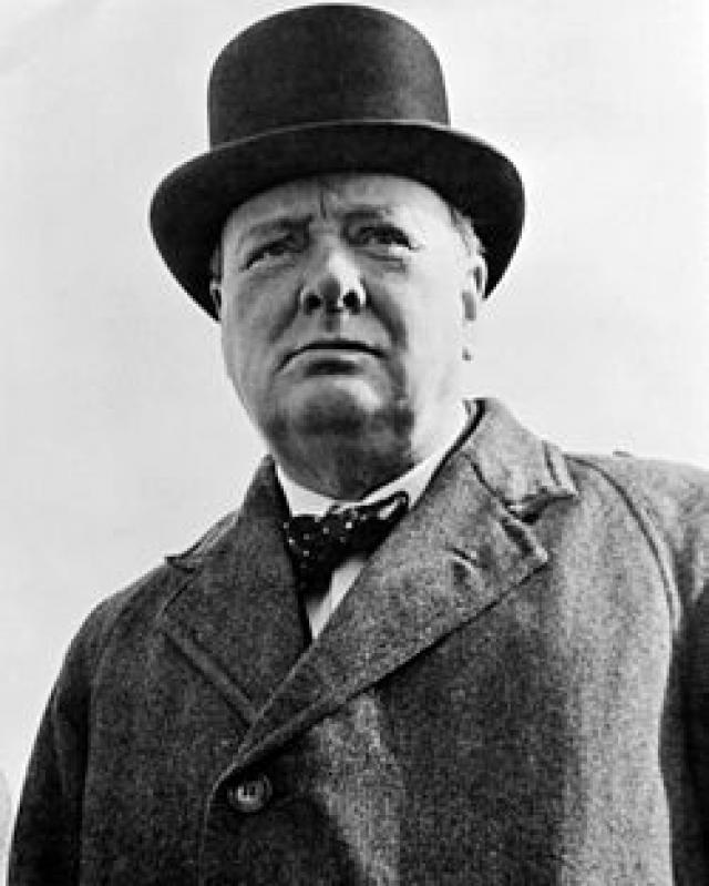 Winston Churchill (1874-1965), former UK Prime Minister, warned the world about Hitler beginning in the 1930's.