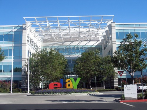 "eBay offices in San Jose, California. Can you imagine a business sending people with guns to your home to require you to pay for its service? Probably not. Yet that is effectively what the political state does in forcing you to pay taxes, fight in its wars, and accept its ""services""."