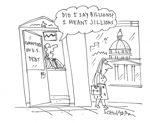 Jillions government debt