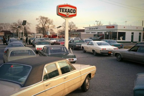 During a time of rapidly rising gasoline prices in the 1970s the U.S. federal state imposed price controls on gasoline. Instead of allowing price to stabilize supply and demand, chronic shortages of gasoline developed and Americans had to wait in lines for hours to buy gasoline. Naturally, the shortages disappeared as soon as price controls were removed.