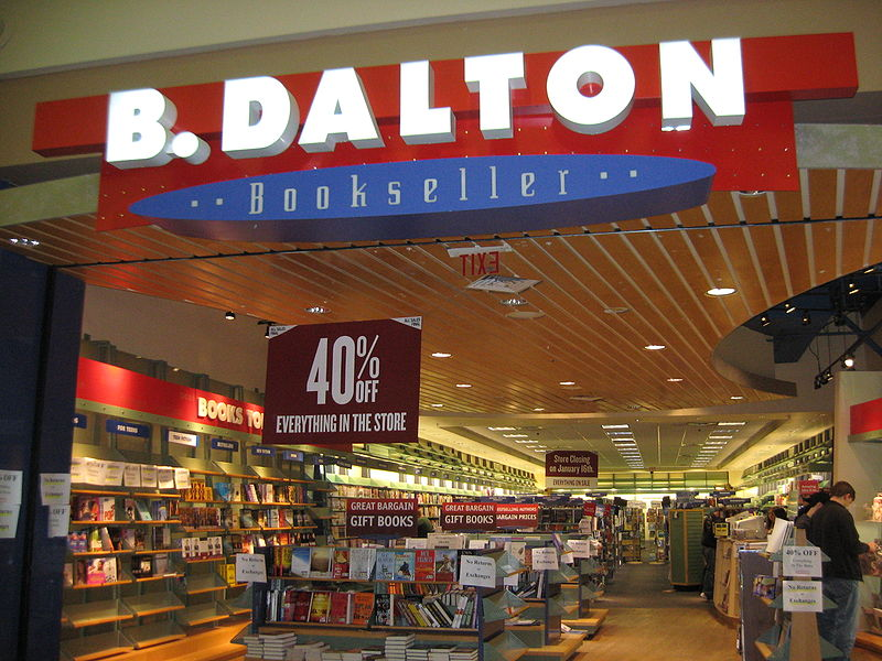 B. Dalton book store, along with Walden Books and Crown Books were the three book retailers that went out of business after the 1988 FTC attack against the chains.