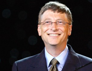 Bill Gates (1955 - present), founder of Microsoft
