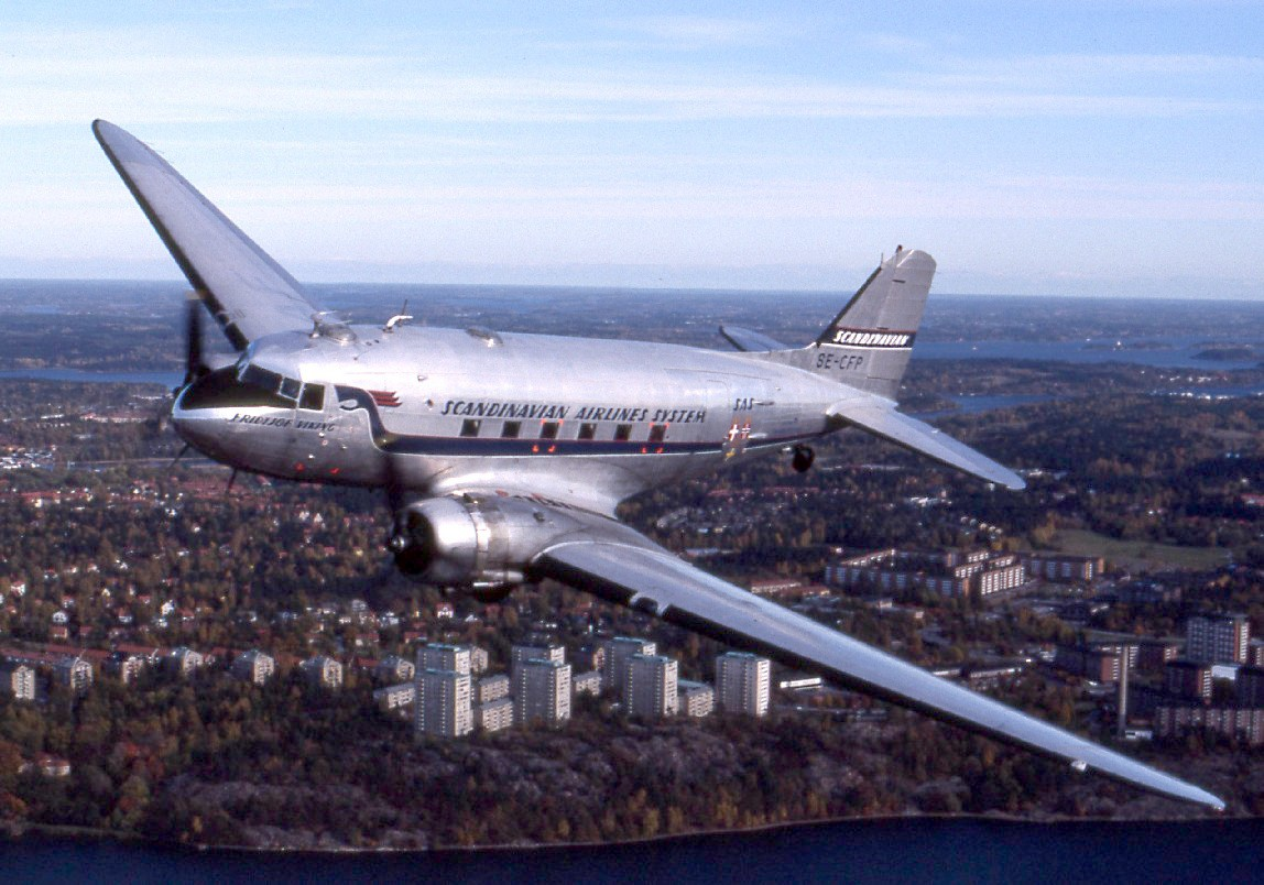 The commercial aircraft industry developed in the 1930s at a time when Alcoa was a true monopoly and the sole source of supply of aluminum in America. America was a world leader in developing commercial aircraft. This image is of the Douglas DC-3, a fixed-wing propeller-driven airliner. Its speed and range revolutionized air transport in the 1930s and 1940s. Its lasting impact on the airline industry and World War II makes it one of the most significant transport aircraft ever made.