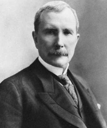 John D. Rockefeller (1839-1937) American businessman and philanthropist.