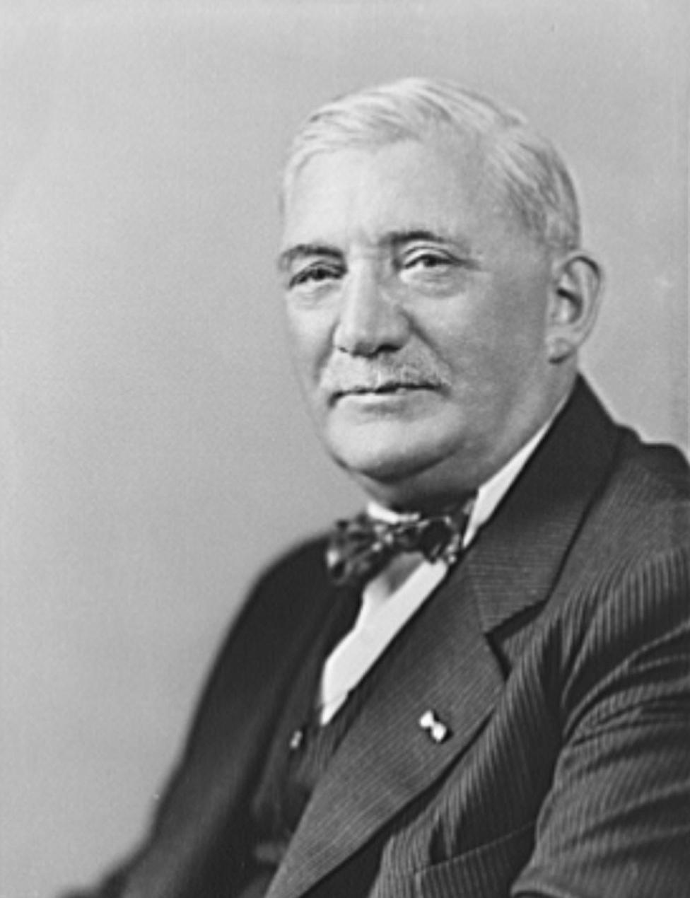 William S. Knudsen, Director of U.S. War Production during WW II
