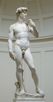 David by Michelangelo (1504)