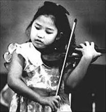 Sarah Chang at age six