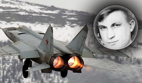 Viktor Belenko and the MiG 25 aircraft