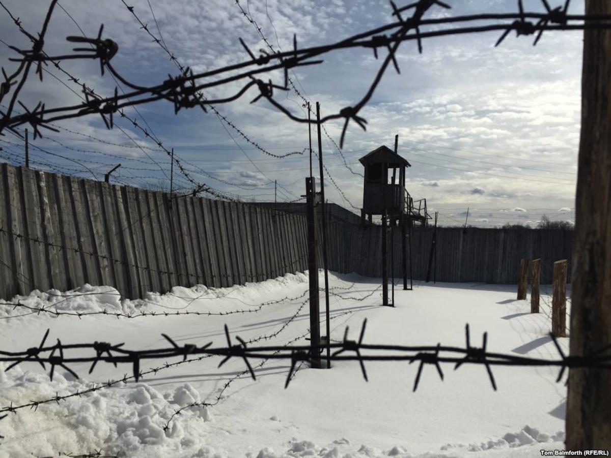 GULAG prison camp in Siberia