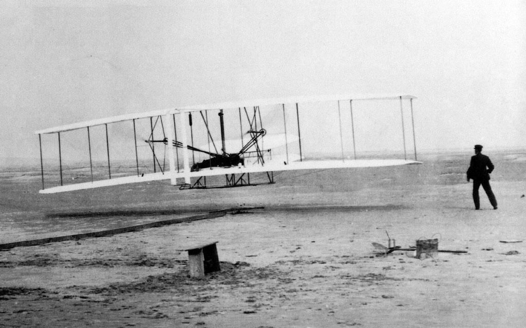 Wright Brothers First Flight, Kitty Hawk, North Carolina, December 17, 1903