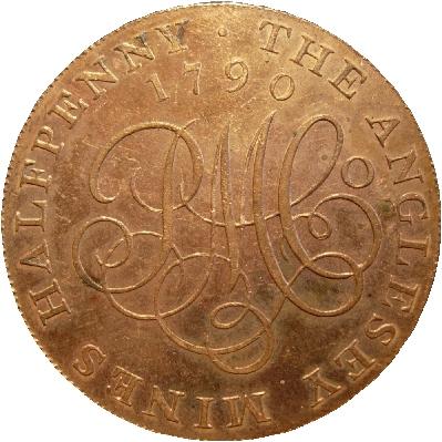 Coin struck by Matthew Boulton's Soho Mint