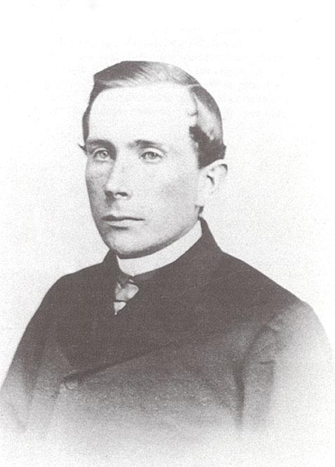 John D. Rockefeller in his mid twenties